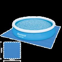 Bestway medence alátét polifoam 50 x 50 cm, kék, 9 db/cs FFG 106
