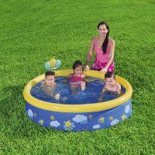 Bestway Spriccelő puhafalú gyerek medence szett 152 x 38 cm FFA 648