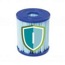 Bestway antibakteriális szűrőbetét papírszűrős vízforgatókhoz, I-es típus FFH 044