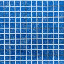 Haogenplast Mátrix 3D medence fólia – kékmozaik, 2 mm, 1,65 m FOL 311