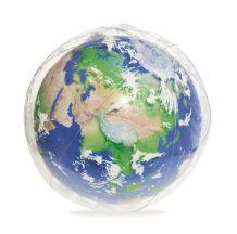 Földgolyó világító labda 61 cm SLA 030