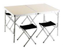 Piknik Szett 120 x 80 cm asztallal, 4 ülőkével GAF 004