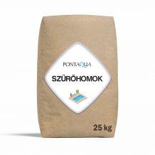 Kvarchomok homokszűrős vízforgatóhoz 0,4 - 0,8 mm, 25kg SZH 901-1