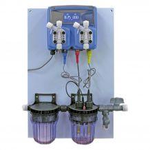 Automata vegyszer mérő és adagoló, pH és H2O2 TKA 715