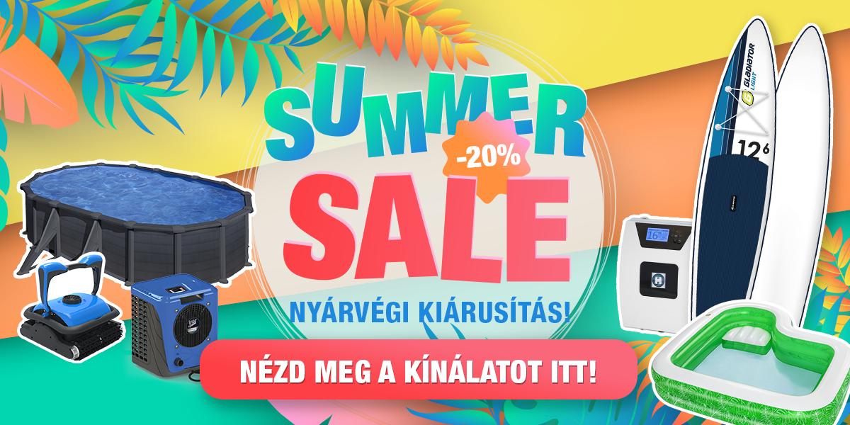 Summer sale – Nyárvégi kiárusítás