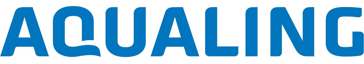 Aqualing medence áruház logo