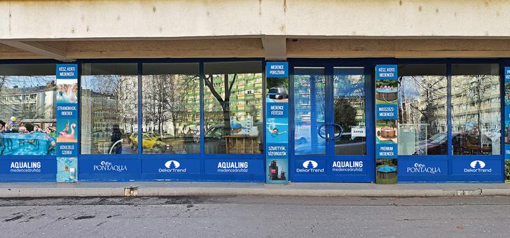Aquaing Medenceáruház Debrecen