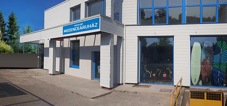 Aquaing Medenceáruház Óbuda