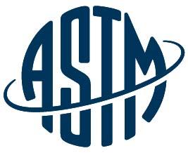 ASTM nemzetközi biztonsági előírások logója